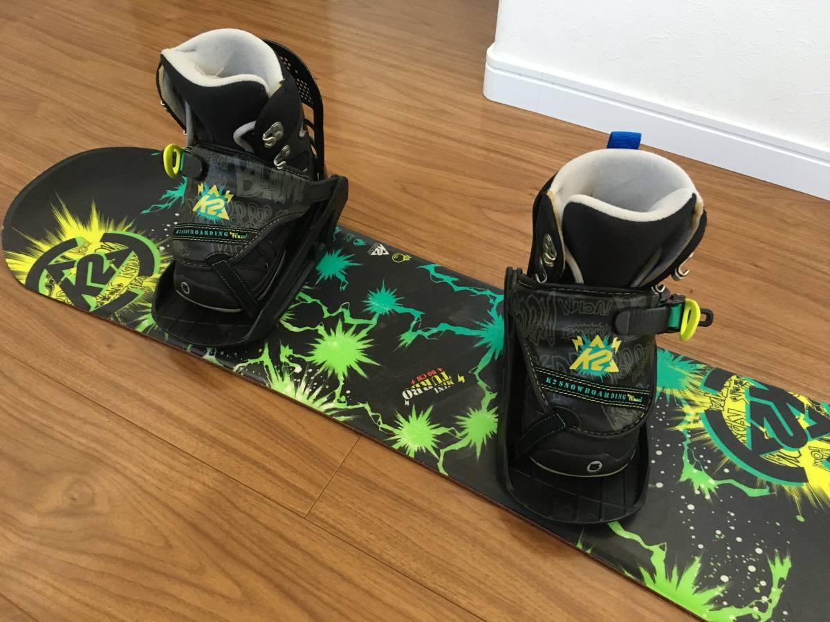 キッズ★スノーボード.ブーツセット★K2.バートン★90㎝★中古品
