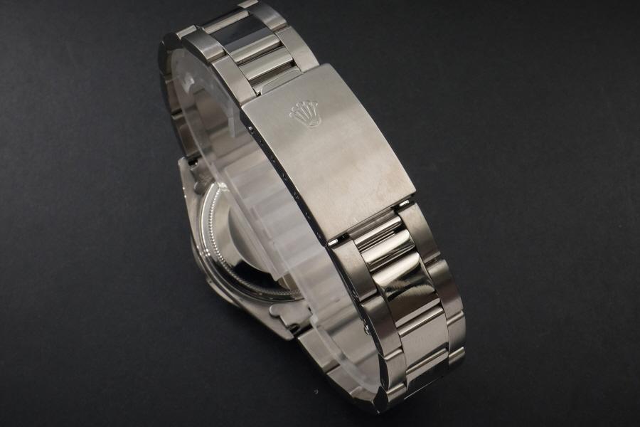 新品仕上げ、ロレックス デイトジャスト Rolex Datejust ブラック 10P ダイヤ & CL ダイヤ 1601 Cal.1570 OH済1年保証_画像6