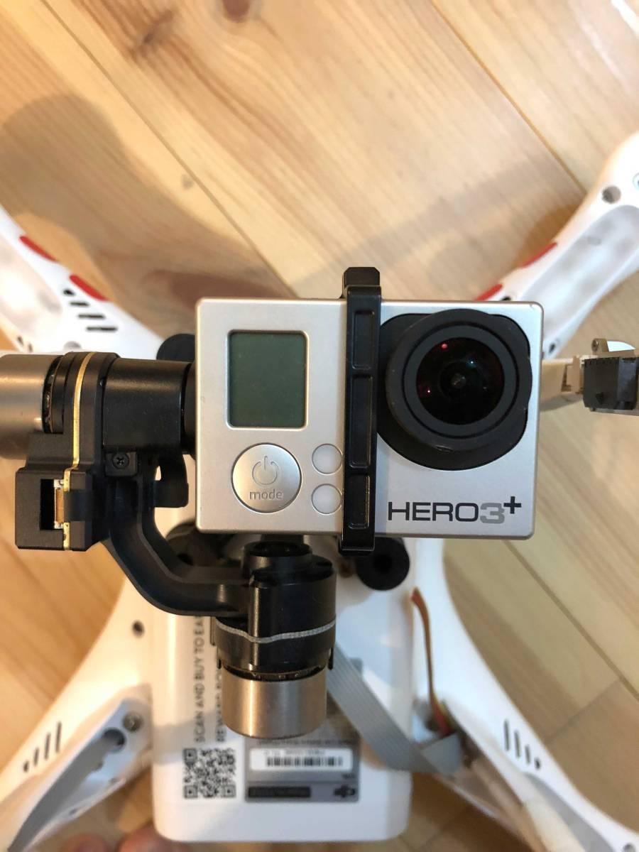 ドローン - DJI Phantom2 + ジンバル(Zenmuse H3‐2D) + GoPro + 32GB SD付き - ジャンク扱い_画像5