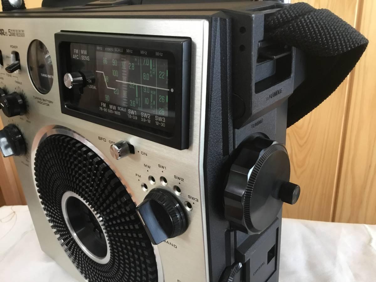 ナショナル パナソニックRF-1150クーガー【即決特典で急速充電器 充電池 変換スペーサーセット】ゆうパック『おてがる版』80サイズで発送_画像4
