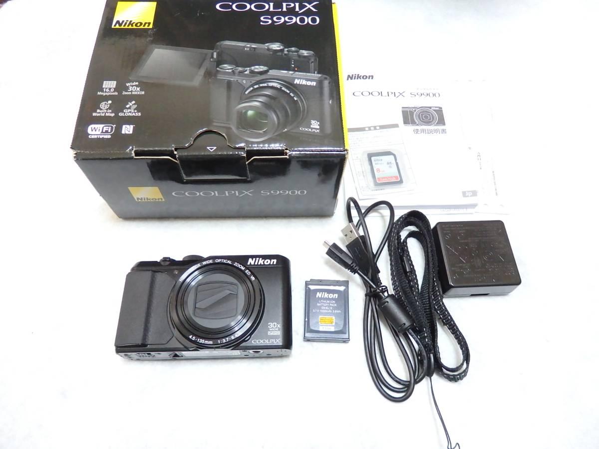 Nikon ニコン デジタルカメラ COOLPIX S9900 付属品完備 自撮り機能