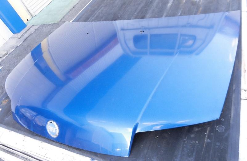 FIATフィアットPUNTプント188A5フード純正ボンネット青エンジンフード 部品取り車あります_画像4