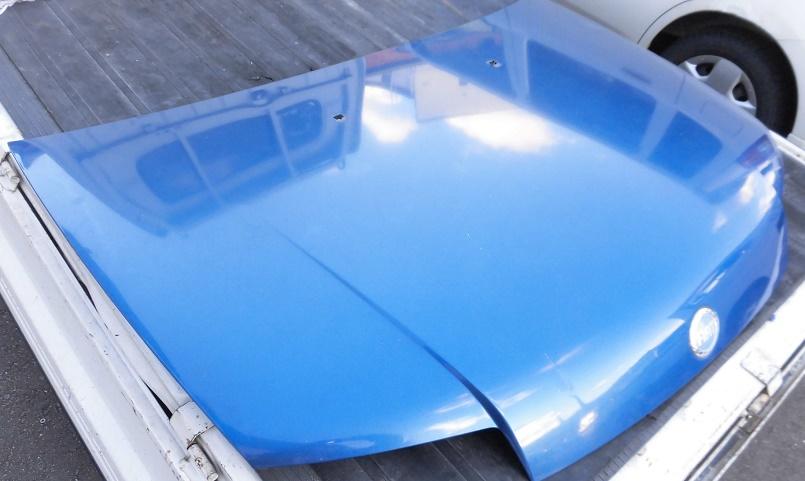 FIATフィアットPUNTプント188A5フード純正ボンネット青エンジンフード 部品取り車あります_画像3