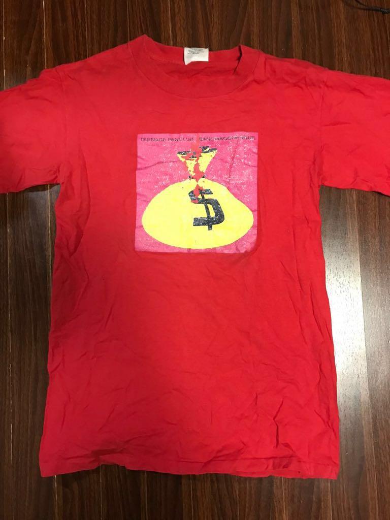 【レア】TEENAGE FANCLUB ティーンエイジファンクラブ Tシャツ BAND WAGONESQUE 【関連】primal scream weezer