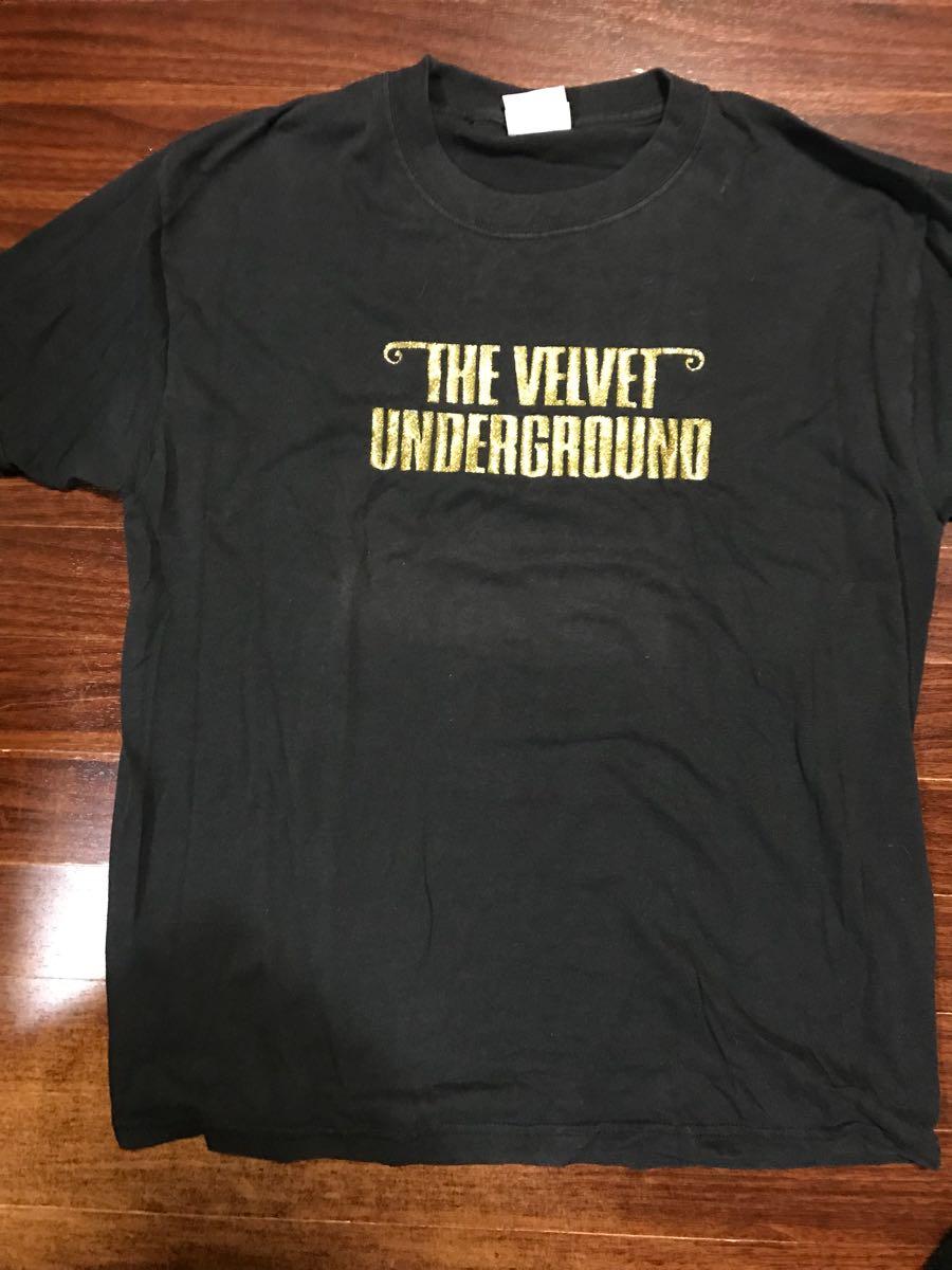 【レア】the velvet underground ヴェルヴェットアンダーグラウンド Tシャツ 【関連】ヴィンテージ ベルベット ルーリード ジョンケイル