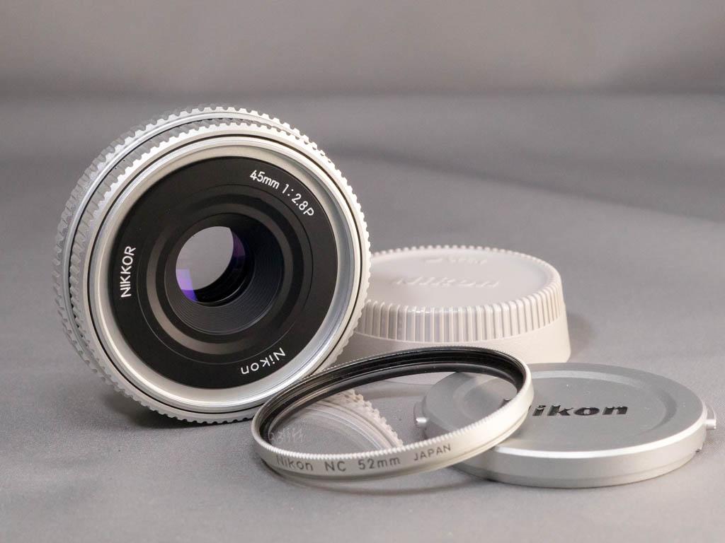 ◆送料無料◆ Nikon Nikkor 45mm/F2.8P / ニコン ニッコール 45mm/F2.8P パンケーキレンズ