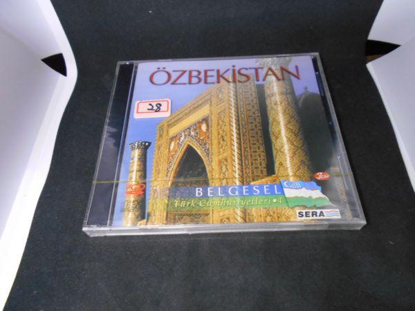 トルコ VCDno.28 中東各国 未開封ウズベキスタン UZBEKISTAN BELGESEL民族衣装 風俗文化 踊舞 デッドストック未使用品(0)_画像1