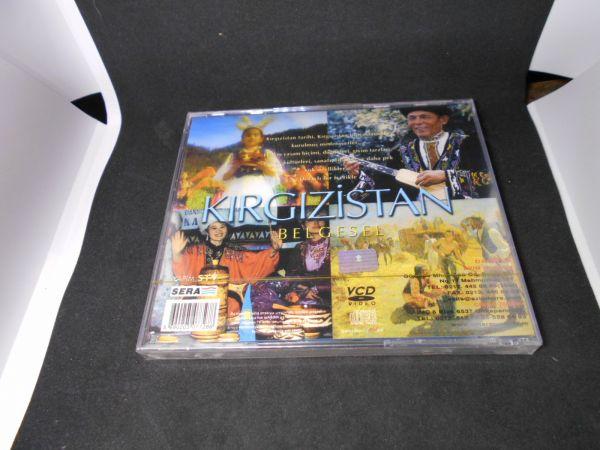 トルコ VCDno.27 中東各国 未開封キルギスタンKIRGIZISTAN BELGESEL民族衣装 風俗文化 踊舞 デッドストック未使用品(0)_画像2