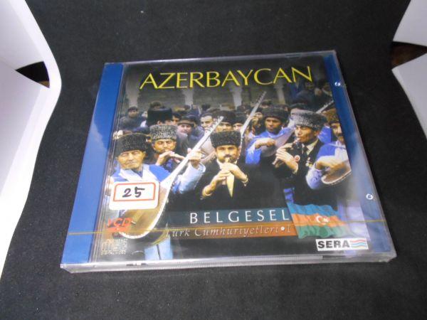 トルコ VCDno.25 中東各国 未開封アゼルバイジャンAZERBAYCAN BELGESEL民族衣装 風俗文化 踊舞 デッドストック未使用品(0)_画像1