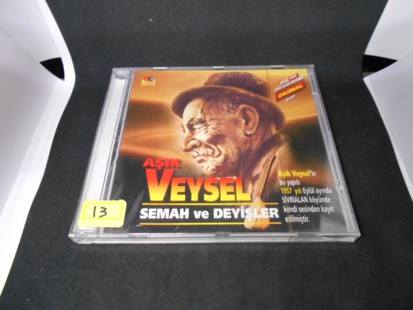 トルコ VCDno13 未開封ASIK VEYSEL SEMAH VE DEYISLER 民族衣装ダンス風俗文化 踊舞 デッドストック未使用品_画像1