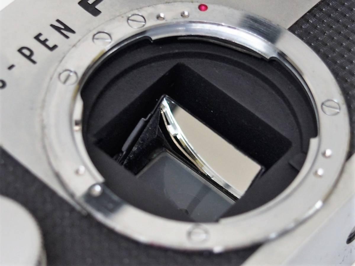 (54)1★オリンパスペン OLYMPUS-PEN FT 一眼レフカメラボディ F.Zuiko Auto-S 1:1.8 f=38mm レンズ ジャンク_画像6