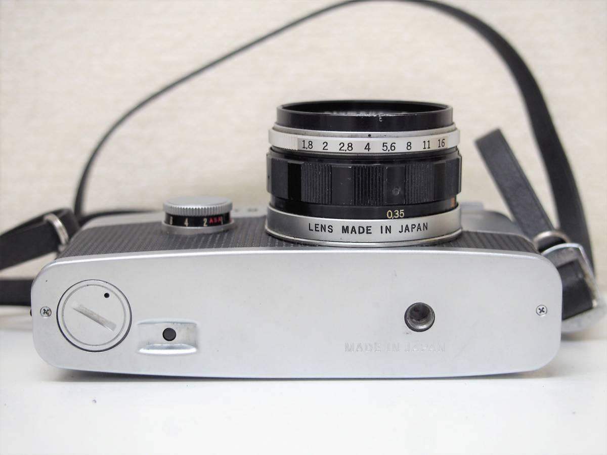 (54)1★オリンパスペン OLYMPUS-PEN FT 一眼レフカメラボディ F.Zuiko Auto-S 1:1.8 f=38mm レンズ ジャンク_画像5