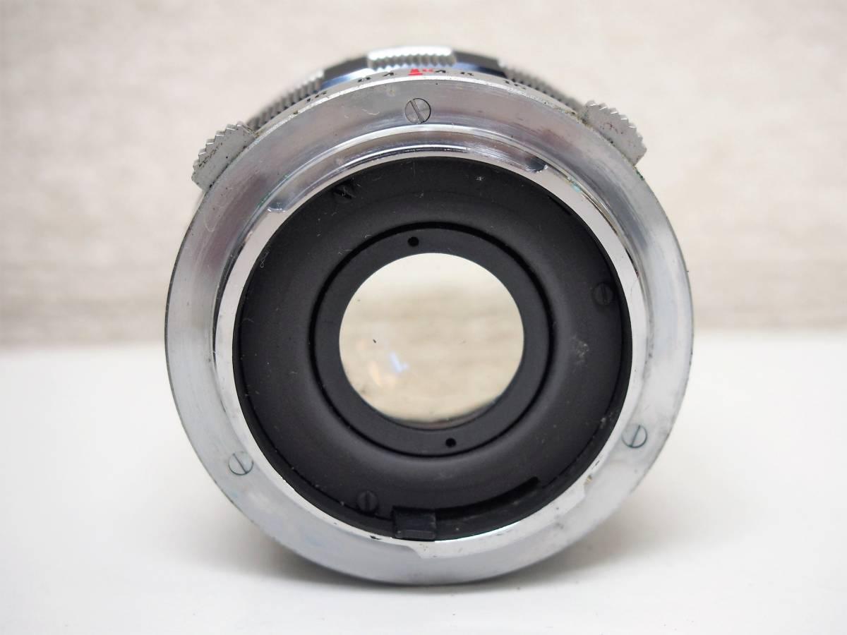 (54)1★オリンパスペン OLYMPUS-PEN FT 一眼レフカメラボディ F.Zuiko Auto-S 1:1.8 f=38mm レンズ ジャンク_画像8