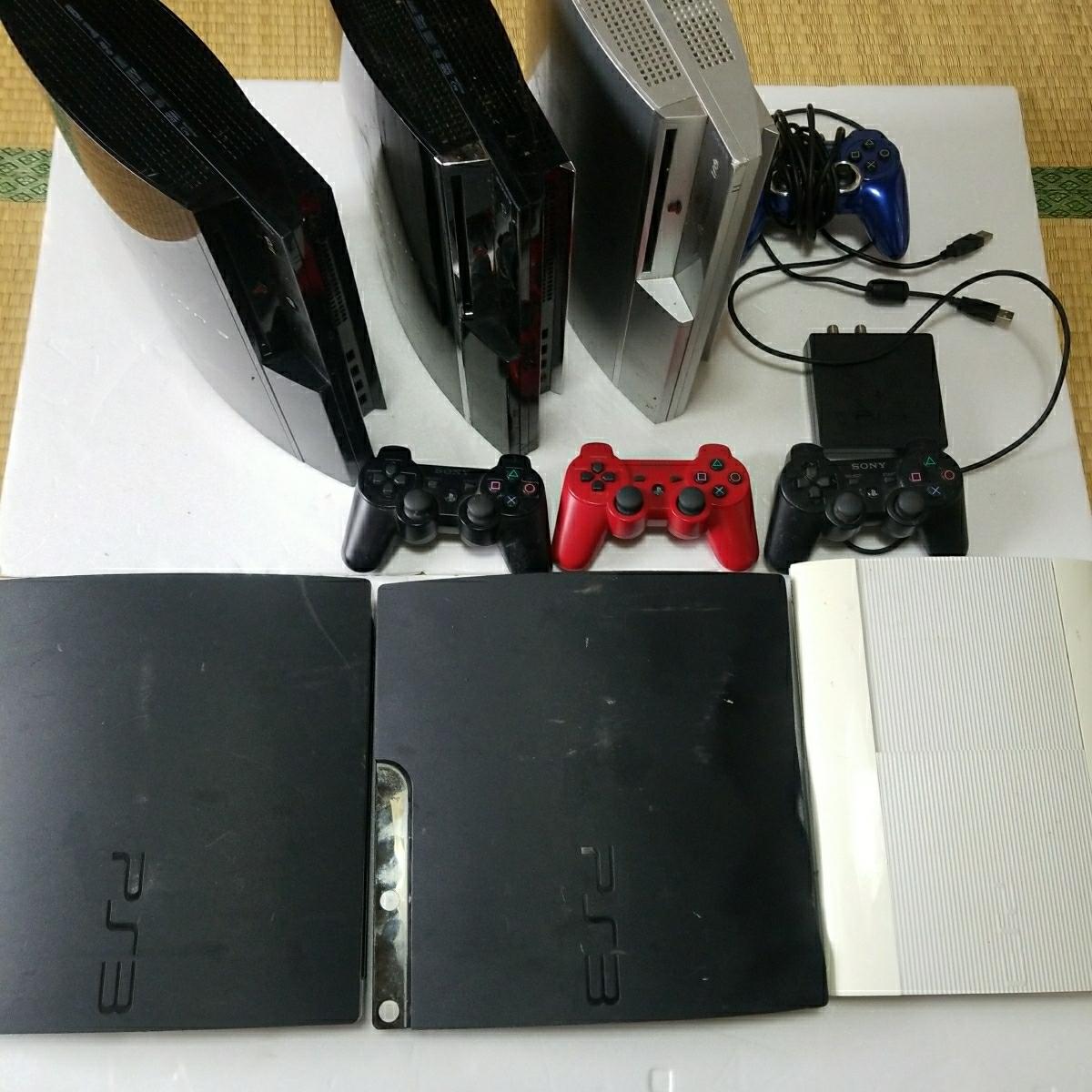 PS3 ジャンク セット コントローラー  トルネ付き