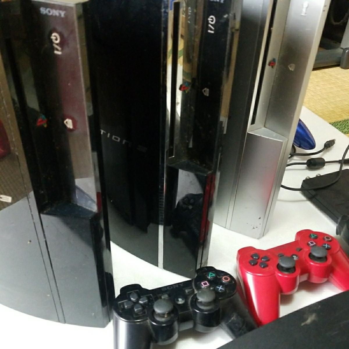 PS3 ジャンク セット コントローラー  トルネ付き_画像2