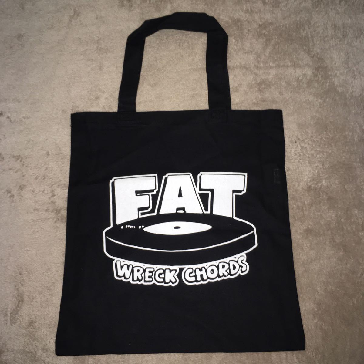 FAT WRECK CHORDS トートバッグ / nofx hi standard wanima pizza of death
