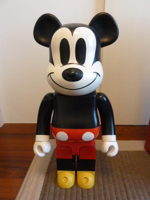 希少 BE@RBRICK ベアブリック 1000% ミッキーマウス 中古 売り切り 1000円スタート