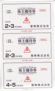 【大黒屋】東映株主優待券綴 1冊 平成30年2月1日から平成30年7月31日まで_画像4