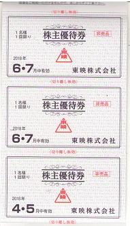 【大黒屋】東映株主優待券綴 1冊 平成30年2月1日から平成30年7月31日まで_画像3