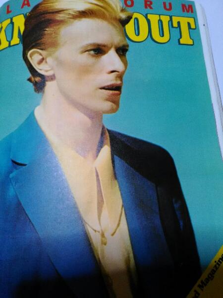 デヴィッド・ボウイDavid Bowie切り抜き1枚