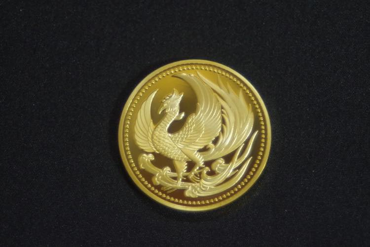 24KGP 記念メダル 菊の御紋 菊紋 鳳凰 メダル 金 ゴールド コイン_画像5