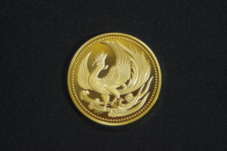 24KGP 記念メダル 菊の御紋 菊紋 鳳凰 メダル 金 ゴールド コイン_画像4