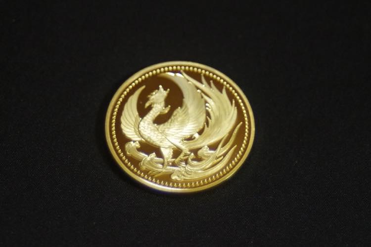 24KGP 記念メダル 菊の御紋 菊紋 鳳凰 メダル 金 ゴールド コイン_画像6
