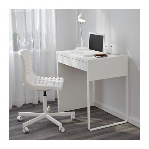 ☆ IKEA イケア ☆ MICKE デスク, ホワイト キッズ 子供 事務 パソコン ビジネス <サイズ 73x50 cm>_画像2