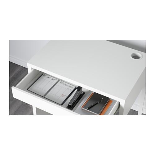 ☆ IKEA イケア ☆ MICKE デスク, ホワイト キッズ 子供 事務 パソコン ビジネス <サイズ 73x50 cm>_画像5