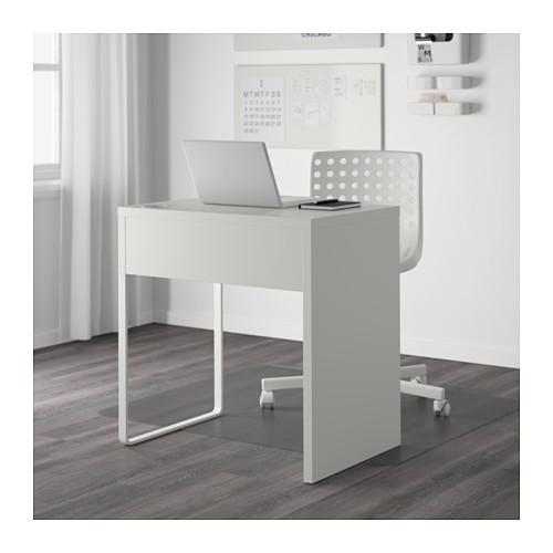 ☆ IKEA イケア ☆ MICKE デスク, ホワイト キッズ 子供 事務 パソコン ビジネス <サイズ 73x50 cm>_画像3