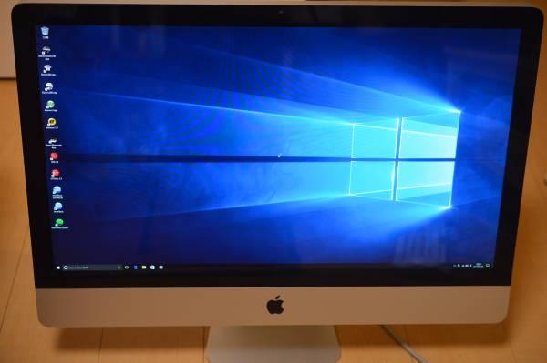 【クリエイター用Waves最強プラグイン&バンドル】iMac Mid2011/27inch/2TB/32GB/Win10/AdobeCS6/Office/FinalCut Pro/LogicPro/Pro tools他_画像3