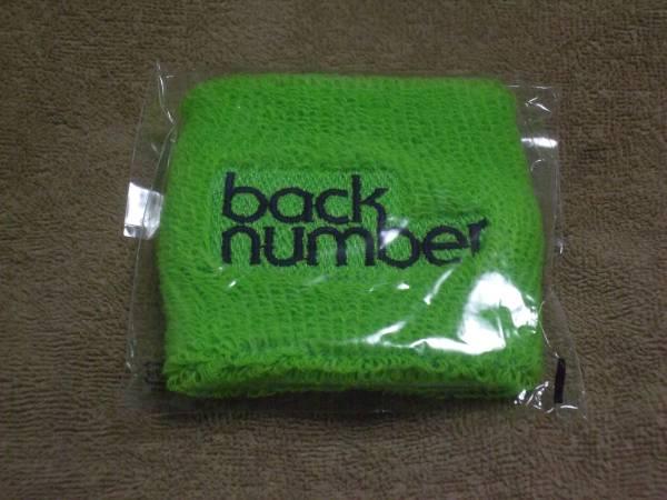 ☆希少品☆back number 2012夏フェス ロゴ・リストバンド