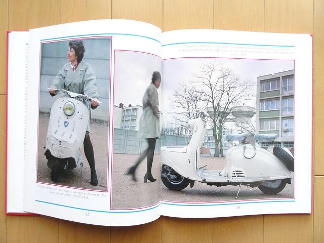 洋書◆スクーター写真集 バイク ベスパ vespa 本_画像2