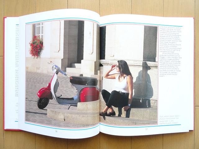 洋書◆スクーター写真集 バイク ベスパ vespa 本_画像3