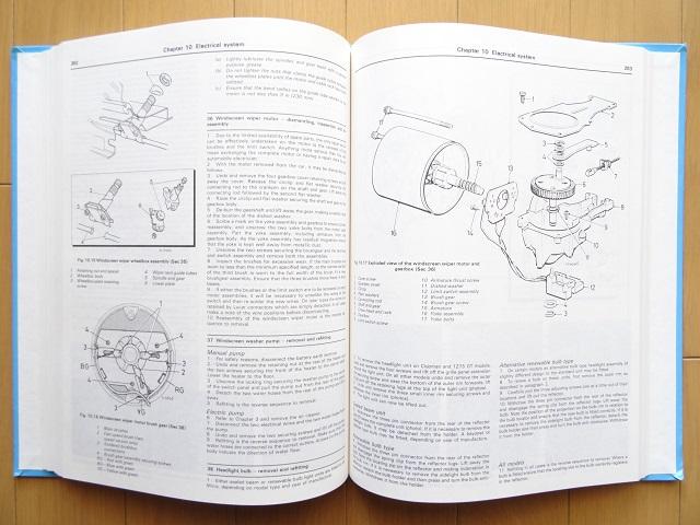 洋書◆ミニ サービスマニュアル 整備ガイド 1969-1991 本 自動車_画像3