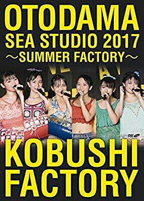 こぶしファクトリー DVD 音霊 OTODAMA SEA STUDIO 2017 SUMMER FACTORY 美品