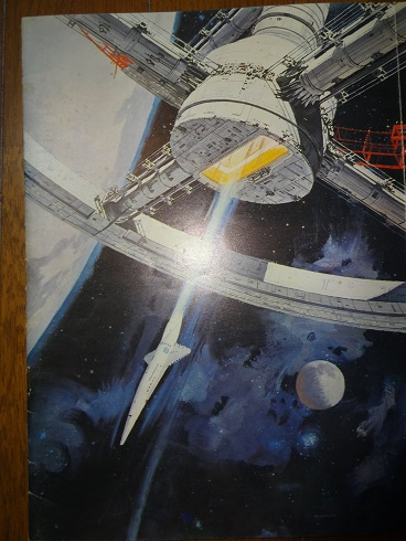 映画パンフレット「2001年宇宙の旅」銀版と黒版_画像8
