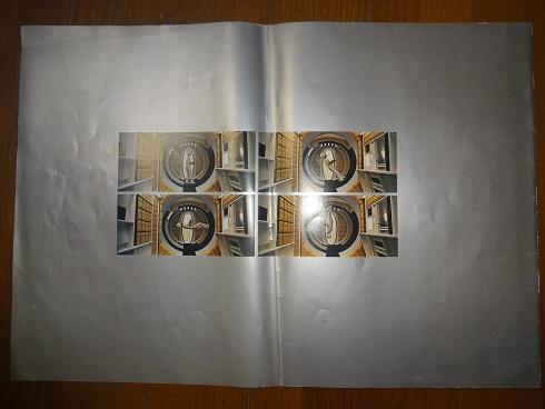 映画パンフレット「2001年宇宙の旅」銀版と黒版_画像3