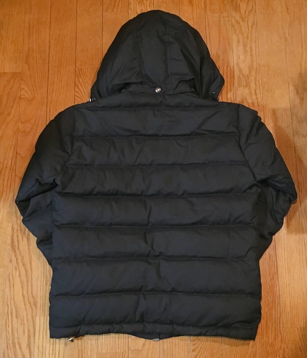【EDIFICE エディフィス】 上質ダブルジップ式 ダウンジャケット 美しいシルエット スタイリッシュ ブラック46_画像8