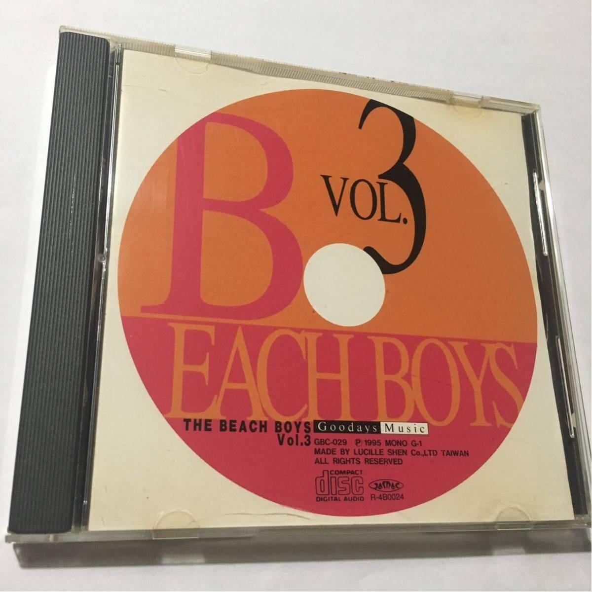 送料込み☆BEACH BOYS ビーチボーイズ☆BEACH BOYS Vol.3 ビーチボーイズ Vol.3☆MONO