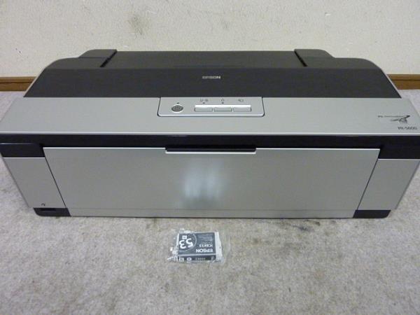◆EPSON/A3インクジェットプリンターPX-5600 動作品 インク新品◆