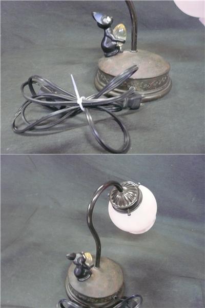 ●※前500〇魔女の宅急便 ジジ スタンドライト ランプ ジジと電球 照明 スタジオジブリ 猫_画像8