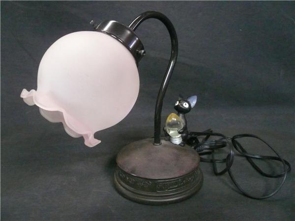 ●※前500〇魔女の宅急便 ジジ スタンドライト ランプ ジジと電球 照明 スタジオジブリ 猫