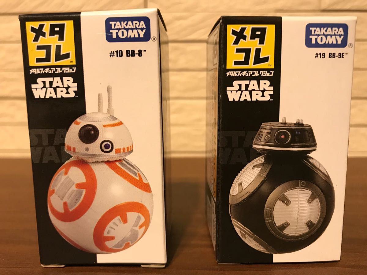 メタコレ スターウォーズ BB-8 BB-9E 2個セット 新品未開封_画像5