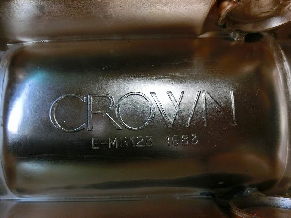Hそ2F トヨタ クラウン CROWN シガレットケース E-MS123 1983 他 ゴールド 2点 まとめて_画像2