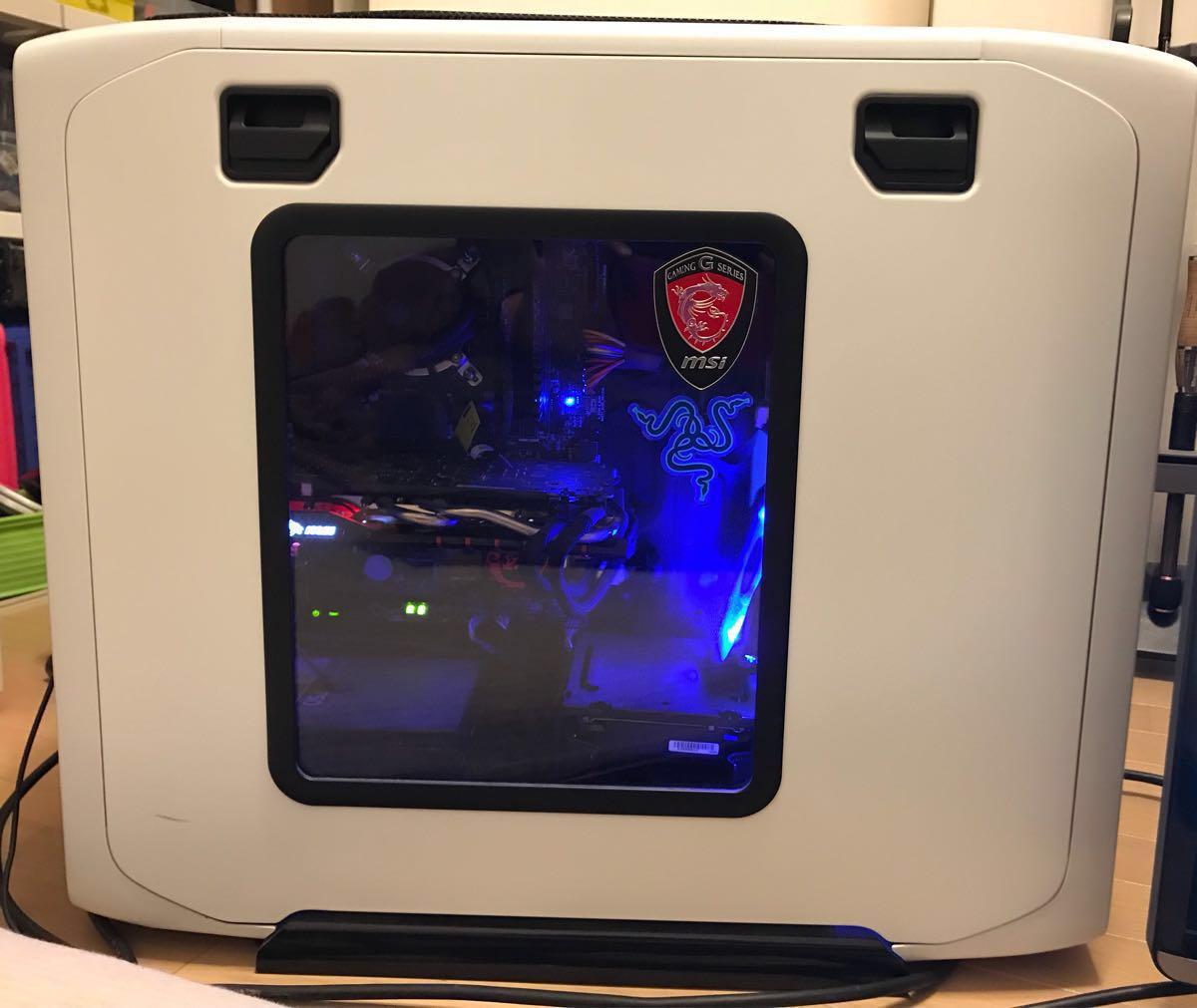 自作PC i7-4770K/GTX970/SSD120GB/16GB/BD/Z87-GD65/750W/USB3.0 簡易水冷ケース電源メモリ全てコルセア