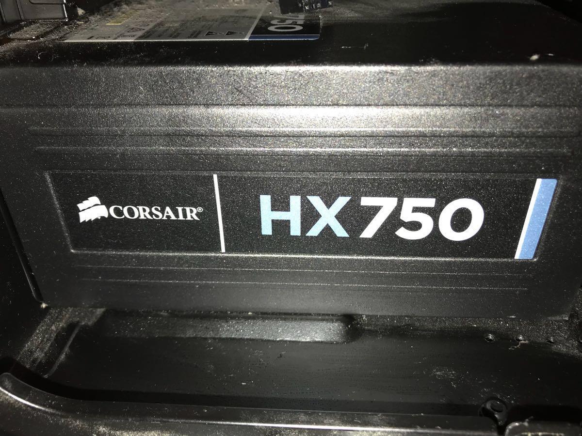 自作PC i7-4770K/GTX970/SSD120GB/16GB/BD/Z87-GD65/750W/USB3.0 簡易水冷ケース電源メモリ全てコルセア_画像3