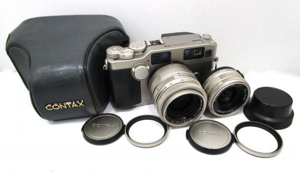 CONTAX コンタックス G2 Carl Zeiss Vario-Sonnar 35-70mm F3.5-5.6 T* カメラ1点 レンズ1点 専用ケース付 1YET-079AZ