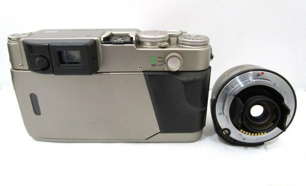 CONTAX コンタックス G2 Carl Zeiss Vario-Sonnar 35-70mm F3.5-5.6 T* カメラ1点 レンズ1点 専用ケース付 1YET-079AZ_画像3