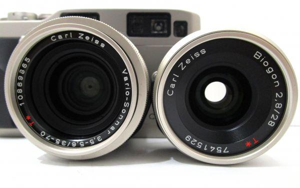 CONTAX コンタックス G2 Carl Zeiss Vario-Sonnar 35-70mm F3.5-5.6 T* カメラ1点 レンズ1点 専用ケース付 1YET-079AZ_画像2